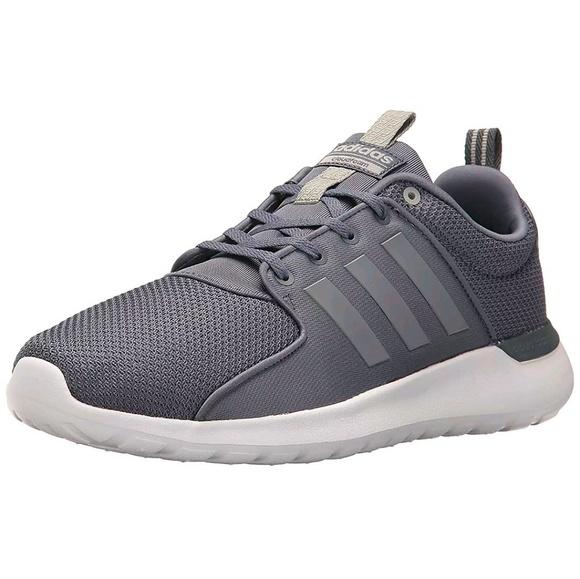 look for catch buy popular ADIDAS NEO LITE RACER GRAY ATHLETIC SHOES NEW NWT